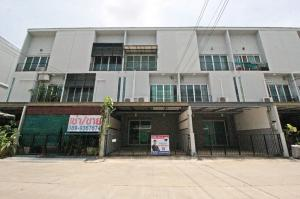 For SaleHouseRama 2, Bang Khun Thian : Townhome for sale, Patio Rama 2 (Soi 33), add 4 hundred thousand, new condition.