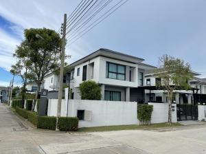 เช่าบ้านบางใหญ่ บางบัวทอง ไทรน้อย : T2020764 ให้เช่า บ้านเดี่ยว 2ชั้น โครงการ D'Habitat Ratchapruek (ดี ฮาบิแทท บ้านกฤษณา ราชพฤกษ์) 3นอน 4 น้ำ ขนาด 71 ตรว. หลังมุม