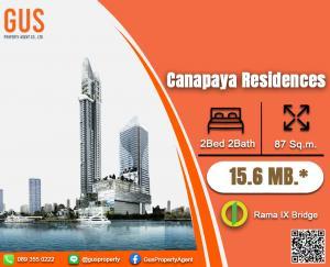 Sale DownCondoRama3 (Riverside),Satupadit : View Thep Big room ++++ Canapaya 2Bed 2Bath size 87sqm