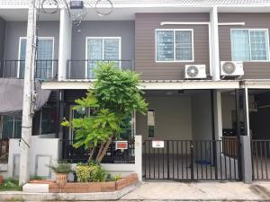 For SaleTownhouseYothinpattana,CDC : Townhome for sale, Areeya Village, The Color Wongwaen-Ramintra.