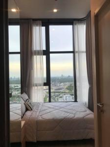 For RentCondoOnnut, Udomsuk : Condo for rent, The Line Sukhumvit 101 BA21_07_056_02, beautiful room, furniture, electrical appliances, ready to send, price 12,499 baht.