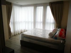 For RentCondoOnnut, Udomsuk : For rent Monique Sukhumvit 64, size 2 bedrooms, corner room, 6th floor, building B, pool view, near BTS Punnawithi