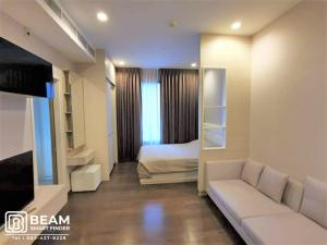 For RentCondoRama9, RCA, Petchaburi : Q001_W **Q ASOKE** Luxury in the heart of the city. And travel conveniently with the subway in front of the condo.