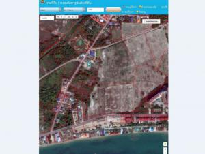 For SaleLandRayong : Land for sale 38 rai near the beach, Phala Beach, Ban Chang District, Rayong Province, in the EEC area.