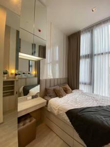 For RentCondoOnnut, Udomsuk : Condo for rent, The Line Sukhumvit 101 BA21_07_060_02, beautiful room, furniture, electrical appliances, price 13,999 baht.