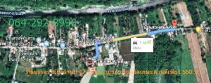 For SaleLandNakhon Sawan : land near river suitable for cultivation Land reclamation Nakhon Sawan Krok Phra Land near Khlong Bang Pramong