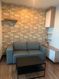 For RentCondoRattanathibet, Sanambinna : Condo for rent, Centric Tiwanon Station, 16th floor, fully furnished, built-in air conditioner, beautiful room, good condition, ready to move in.