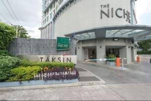 For RentCondoWongwianyai, Charoennakor : ❗️❗️ Interested in details Add Line Line ID : @likebkk (with @ too)❗️❗️ The Niche Taksin price 13,000 baht/month