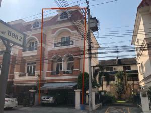 For SaleTownhouseKaset Nawamin,Ladplakao : Quick sale! 3-storey townhome, Casa City, Sukonthasawat 1, size 29 sq m, 3 bedrooms, 4 bathrooms, behind the edge of Soi Sukonthasawat 36, Kaset Nawamin Road. near the pink line