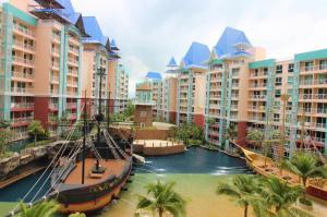 For SaleCondoPattaya, Bangsaen, Chonburi : Condo for sale in Pattaya Grand Calibbian Condo Resort Pattaya