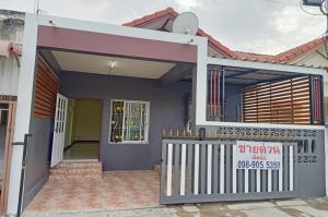 For SaleTownhouseAyutthaya : Baan Bua Klee 10, newly decorated.