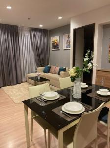For SaleCondoSathorn, Narathiwat : Covid price!! Rhythm Sathorm, 2 bedrooms, size 64 sq.m., unblocked view, complete furniture