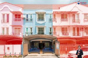 ขายทาวน์เฮ้าส์/ทาวน์โฮมเอกชัย บางบอน : ขายบ้านกำนันแม้น ทาวน์เฮ้าส์ 3ชั้น ม.โมเดิร์นทาวน์ เอกชัย46