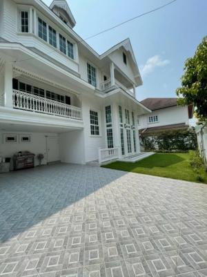 For RentHouseBangna, Lasalle, Bearing : House for rent Sukhumvit Bangna near BTS bearing ,fully furnished