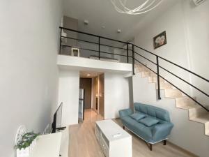 For RentCondoRama9, RCA, Petchaburi : For rent ideo new rama 9 area 37 sqm. 24th floor.