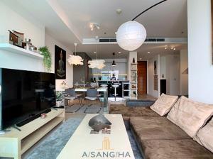 For RentCondoWongwianyai, Charoennakor : ADASH-009 The River condominium for rent 2 Bedrooms