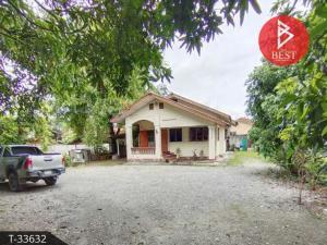 For SaleHouseChiang Mai : Single storey house for sale, Saraphi, Chai Sathan, Chiang Mai.