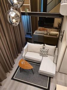 For RentCondoSapankwai,Jatujak : Condo for rent The Reserve Phahol - Pradipat Duplex1 bedroom 1 bathroom 40 sq.m. Floor 16 Fully furnished ready move in near BTS Saphan Kwai!