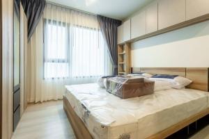 For RentCondoRama9, RCA, Petchaburi : Condo for rent, Life asoke, 1 bedroom, high floor, beautiful view, fully furnished