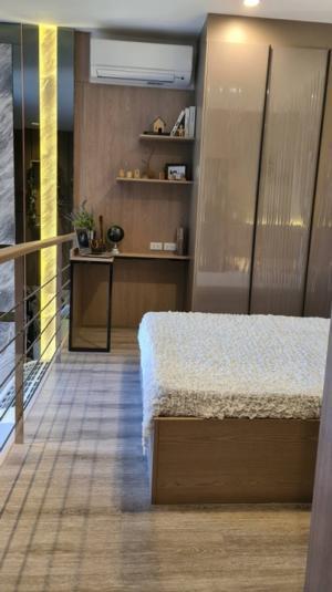 เช่าคอนโดพระราม 9 เพชรบุรีตัดใหม่ RCA : For rent เช่า คอนโด smart home  !! Ideo mobi asoke (ไอดีโอ โมบิ อโศก) MRT เพชรบุรี 1 bed Duplex 47.25 ตร.ม ชั้นสูง ราคา 32,000 บาท ตกแต่งบิ้วอินสวยอย่างดี !!