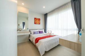For RentCondoBang kae, Phetkasem : Condo for rent, The Prodigy Petchkasem 62, high floor, beautiful room, near The Mall Bang Khae and MRT