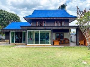 ขายบ้านเชียงใหม่ : ขายบ้านสีน้ำเงิน 3 ห้องนอนใน 150 ตร.ว. ต.หนองควาย อ.หางดง จ.เชียงใหม่