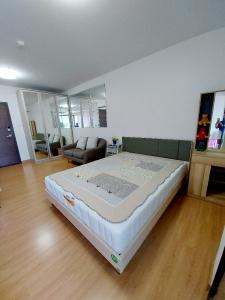 For RentCondoChengwatana, Muangthong : very cheap rent Supalai Loft Chaengwattana 33.5 sqm.