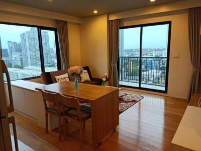 เช่าคอนโดอ่อนนุช อุดมสุข : Near BTS Onnuj/ Corner room 46 sqm. at 17th Floor with good view & private zone/ 1 Living room+1 Bedroom+1 Bathroom
