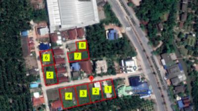 For SaleLandSamut Songkhram : beautiful land plot away from the main road Samut Songkhram - Bang Phae, only 100-200 meters