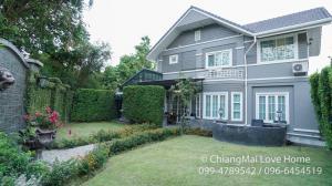 ขายบ้านเชียงใหม่ : CMLH01ขายบ้านเชียงใหม่ สวยหรู พร้อมอยู่ 105 ตารางวา 4ห้องนอน 3ห้องน้ำ ราคา 9.9ล้านบาท
