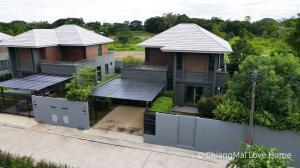 ขายบ้านเชียงใหม่ : CMLH02บ้านใหม่ตกแต่งพร้อมอยู่ 🍃 ทรอปิคอลโมเดิร์นดีไซต์  ☘️🌷🍁🌵🏞️ ใกล้พรอมเมนาดาเชียงใหม่