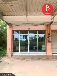 For SaleShophouseChanthaburi : 3-storey commercial building for sale, Rim Klong Khut, Tha Mai, Chanthaburi.