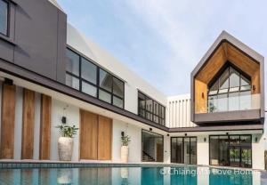 ขายบ้านเชียงใหม่ : CMLH03 Pool Villa Modern Nordic style  บ้านดีไซน์สแกนดิเนเวียนผสมผสาน พร้อมตกแต่งสวยหรูที่ลงตัว