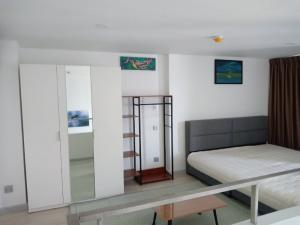 For RentCondoSathorn, Narathiwat : For rent Knightsbridge Prime Sathorn Duplex 1 bedroom, 2 storey room, chic room style, convenient to live. Clearly divided zones, high floor, clear view, beautiful, worthwhile, fully furnished, near BTS