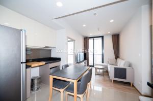 For RentCondoSukhumvit, Asoke, Thonglor : For Rent Condo Oka Haus Sukhumvit 36, near BTS Thonglor, Two Bedrooms Size 49.92 sq.m. 26,000/month