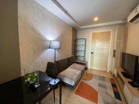 For RentCondoRattanathibet, Sanambinna : ให้เช่า คอนโด KnightsBridge Duplex ติวานนท์ 29 ตรม. 1 นอน ชั้น 12A ห้องสวย วิวดี ตกแต่งครบ K2037