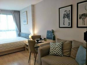 For RentCondoBangna, Lasalle, Bearing : [[For Rent]] Fully furnished condo near BTS Bangna Condo Ideo O2