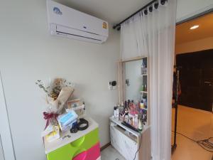 For SaleCondoBangbuathong, Sainoi : ห้องตกแต่งใหม่ปูพื้นกระเบื้องลายหินอ่อนสีขาว