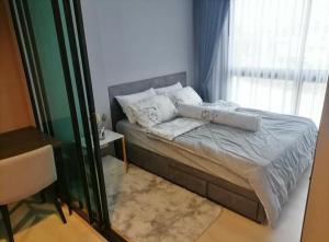 For RentCondoRama9, RCA, Petchaburi : 💕 New room for rent, Condo Rise rama 9, near Airport link Ramkhamhaeng, complete electrical appliances Ready to go