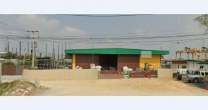 For RentWarehouseAyutthaya : Land for rent 300 square meters with warehouse and factory 300 square meters, spacious area. On the road of Asia Bang Pa-in District Phra Nakhon Si Ayutthaya can park more than 10 cars.