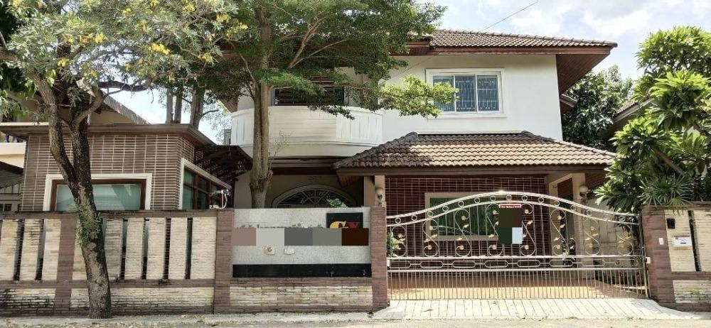 For SaleHouseRamkhamhaeng,Min Buri, Romklao : Quick sale, 2 storey detached house, 70.9 sq.wa. M. Amorn Place Ramkhamhaeng 167/1 Saphan Sung District, near Mistine Intersection, near BTS.