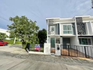 For SaleTownhouseBangbuathong, Sainoi : ‼️ Townhouse for sale, corner plot, Pruksa Prime, Ratchaphruek-Rattanathibet, MRT Bang Rak Yai, very cheap price ‼