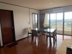 For RentCondoSamrong, Samut Prakan : Condo for rent: Thana City Novel, Bangna-Trad Km. 14 Road, Building B, 11th floor, size 98 sq.m., 2 bedrooms, 2 bathrooms, fully furnished, price 15,000 baht / month