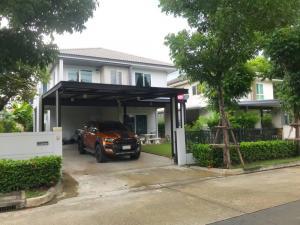 For SaleHouseRangsit, Patumtani : Prueklada 3, Lam Luk Ka, Khlong Si, 64 square meters, good condition, the project is opposite Beacon House Yamsaard School.