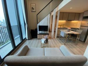 For SaleCondoSapankwai,Jatujak : 🌟The Reserve Phahol - Pradipat for sell 5.3MB.! Duplex 1 bedroom 1 bathroom 40 sq.m. fl.9 Fully furnished, Ready move in near BTS Saphankhwai🌟