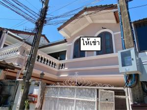For RentTownhouseRamkhamhaeng, Hua Mak : House for rent 4 bedrooms 5 bathrooms The College Town Ramkhamhaeng 24 Air conditioning in every room Suitable for living - making an office 💢 For rent 23,000 / month 💢