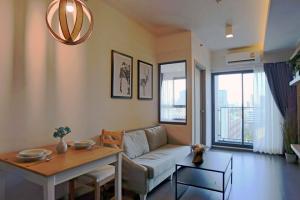 ขายคอนโดอ่อนนุช อุดมสุข : ห้องสวย ราคาดี !! Ideo Sukhumvit 93 ขนาด 34 ตรม. 1 ห้องนอน มีอ่างอาบน้ำ วิวเมือง ทิศเหนือ ห้องแต่งสวย ราคาดี