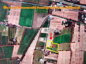 For SaleLandRatchaburi : Land for sale 7-3-90.2 rai, beautiful plot, next to Photharam Road, Ratchaburi.