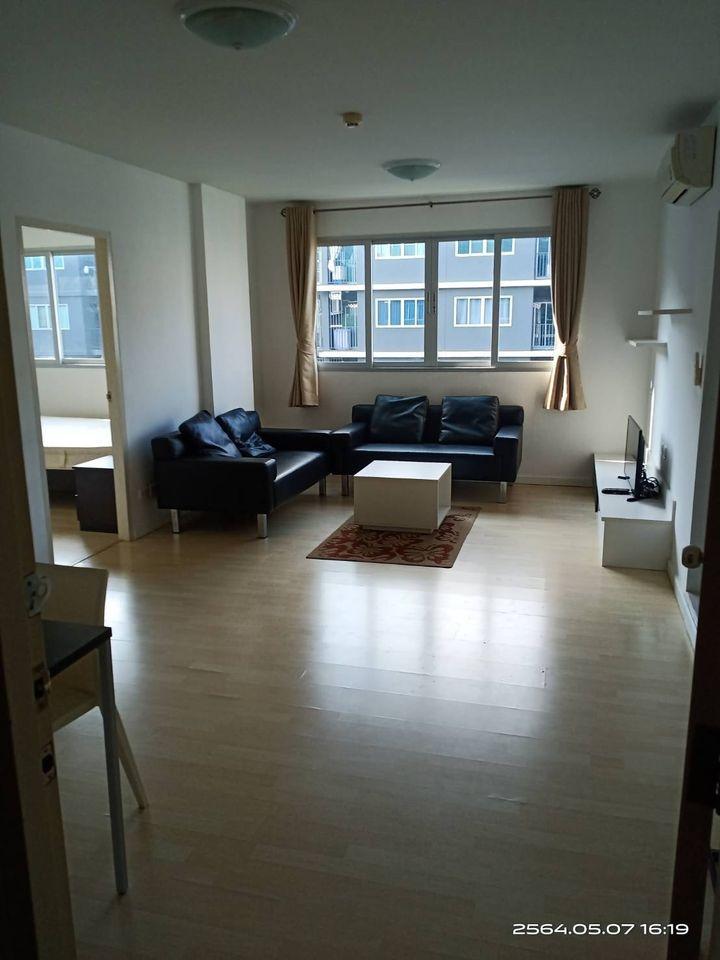 For RentCondoLadkrabang, Suwannaphum Airport : 7810 2 bedrooms for rent, D Condo On Nut, Suvarnabhumi, Lat Krabang, 60 sqm, 2 parking spaces.