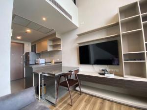 For RentCondoSapankwai,Jatujak : 💕 Condo for rent Onyx Phahonyothin 🚅 near BTS Saphan Khwai, Duplex room, 20th floor, fully furnished, ready to move in.